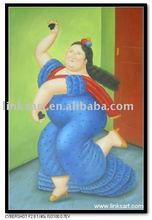 Artistic Oil Painting Botero oil Painting