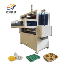 Recycling pulp mold egg tray machine / pulp mold egg box making machine / electrical products paper tray making machine