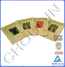 Top sale plastic seal vegetable seed packing for chili