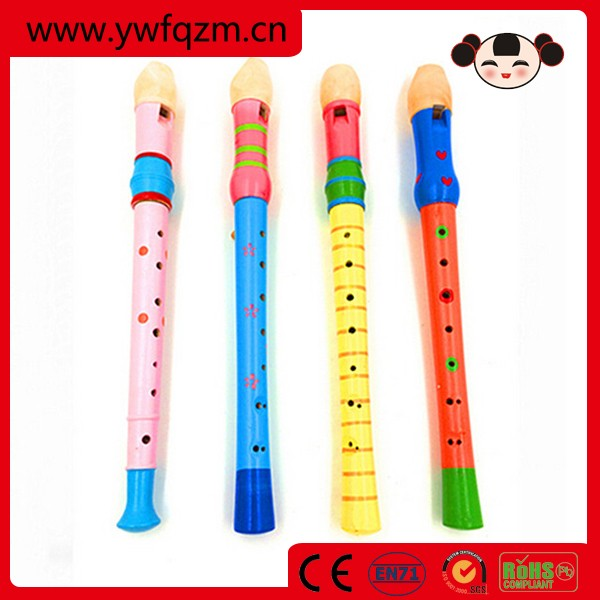 cheap wood musical instrument toy flute