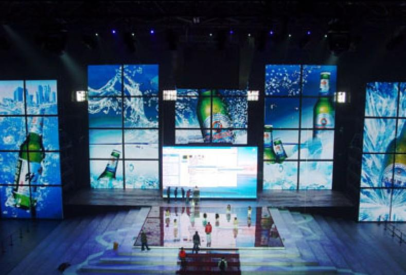 Waterproof DIP HD Full Color P20 Outdoor Stage Background Led Display Big Screen