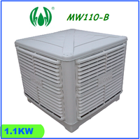 Industrial Evaporative Air Cooler 1.1kw 18000m3/h airflow MW110-B