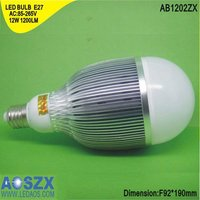 12W LED Bulb Energy Saving Lamp