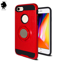 360 cover degree new desigon fashion colors tpu nano suction kickstand mobile phone case for iphone 6 6s 7 8