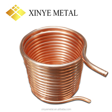 cheap pure copper tube pipe price c12200