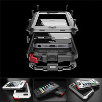 Doom armor Dirt strong Waterproof Shockproof Metal Aluminum phone case For iphone 4 4s 5 5s 5c 6 4.7'' 6 Plus