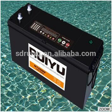 Heavy Duty Charged Auto battery 12v 120ah with Sealed N120AH