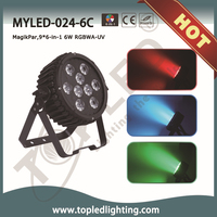 Professional competitive price 110-240v Light KTV Pub Portable Stage Lighting multi color led light with remote controller