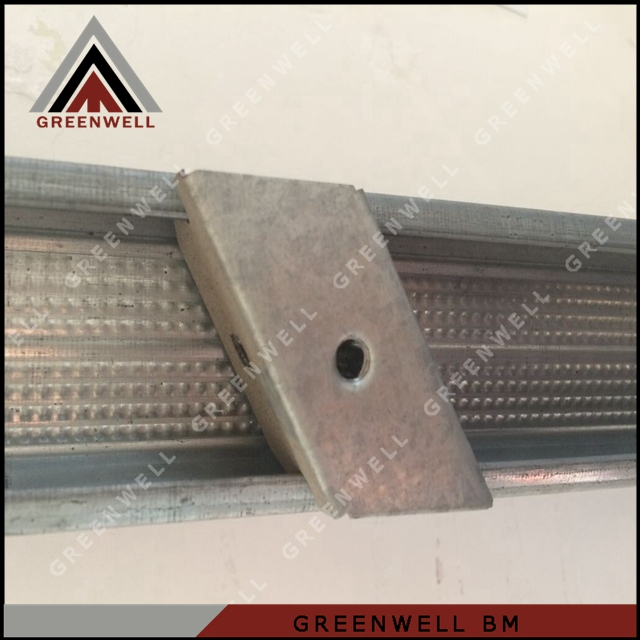 Steel profile ceiling drywall light steel accessory
