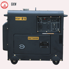 Hot sale AC three phase portable welder diesel generator for sale