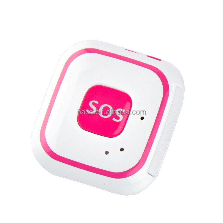 V28 Personal Safety 2G WCDMA Mini GPS Chip Tracker with mini sos button gps