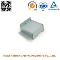 Factory working metal stamping galvanized steel sheet bending box