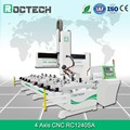 Roctech CNC Aluminium Window Frame Making Machine RC1240SA With HSD 9KW Spindle