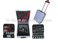 LB-249-186pcs Hand tool set with aluminum box;Stock tool set