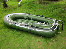 PVC inflatable boat with engine