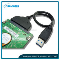 22pin sata to usb3.0 , H0T115 cable for 2.5 inch/3.5 inch hdd and ssd , sata cable