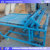 High efficiency farm working grass mat weaving machine