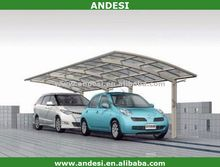 aluminum car parking sheds