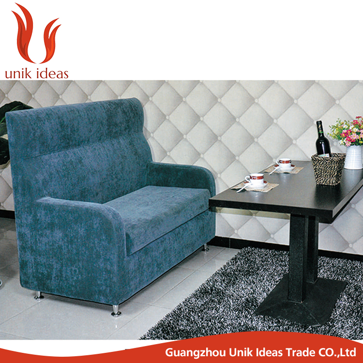 Restaurant furniture fabric bentwood sofa chair booths for for Fabric couches for sale