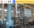 Ceramic powder spin flash dryer