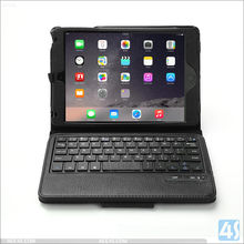 2016 Hot sell Items PU Leather Case wireless Bluetooth Keyboard for Apple iPad Mini 4