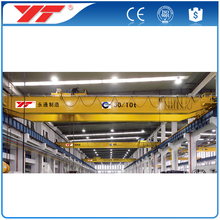 China supplier Overhead crane 15t hoist double girder overhead crane price