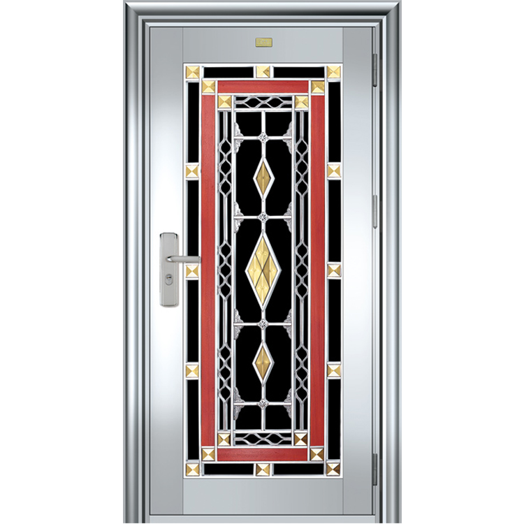 Enhanced stainless steel doors with windows HL-9138