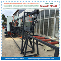 Sawmill-World Vertical Band Saw Wood Bandsaw Dual Blades Sawmill