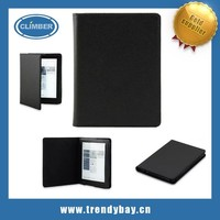 Ultra Slim Thin 6 inch leather case for kobo aura 6'' ereader