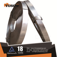 carbon packing belt/baling hoop strapping/galvanized steel strip
