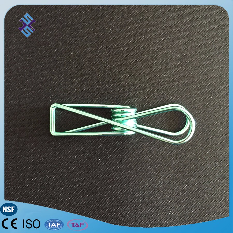 Novelty giant stainless steel spring fish clip for clothes