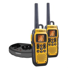 Walkie Talkie Uniden PMR1189-2CK with 10 km operating range and available in yellow color