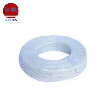 UL3122 covering for fiber glass braid 300V silicone coated wire