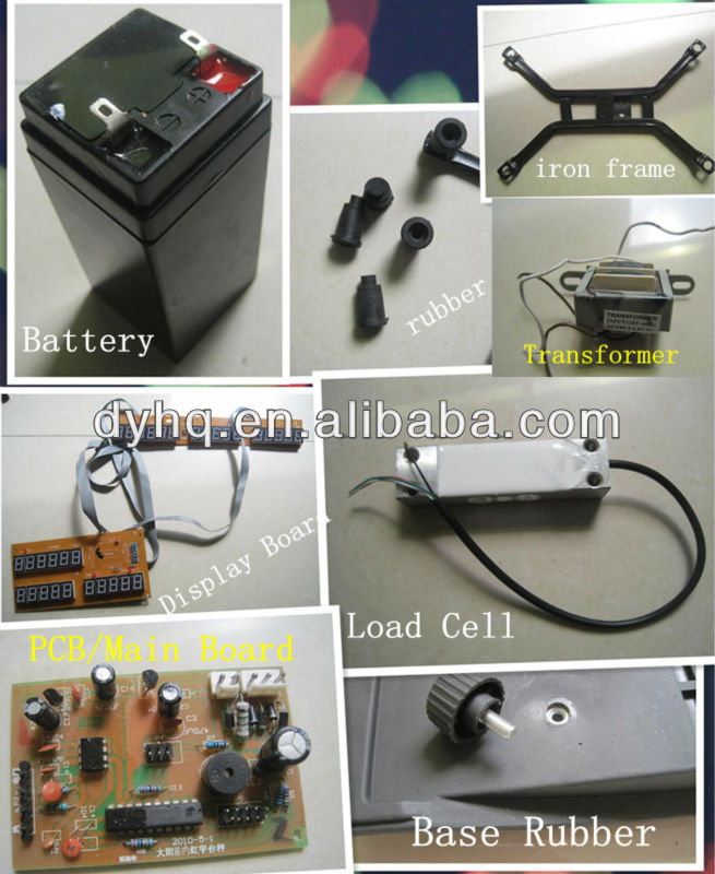Electronic price computing scale DY-978