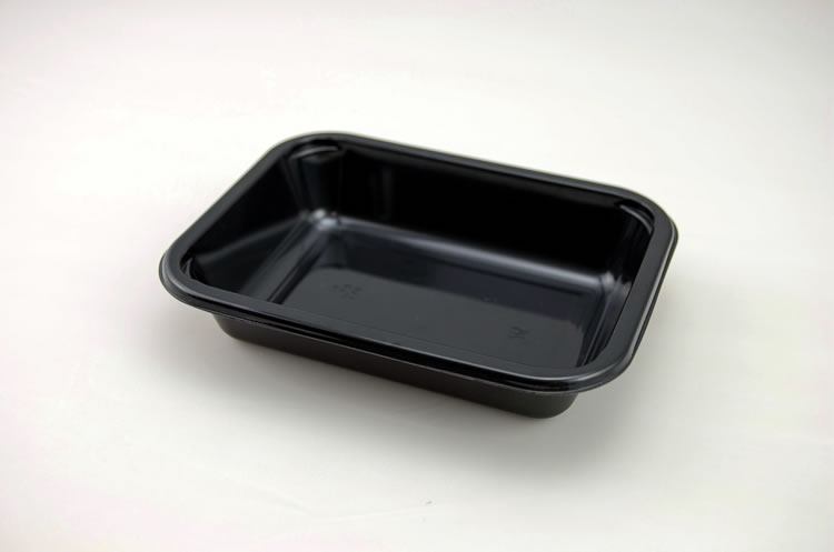 Ovenable Plastic Airline CPET Tray