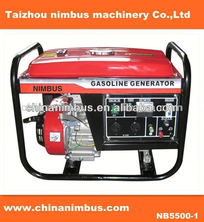 certificate home use portable gasoline generator mini gas motor scooter