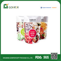 new product online shopping dried food packaging bag