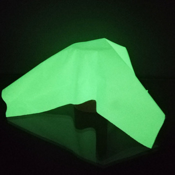 high visibility Glow in the dark polyester fabric Night Luminous Fabric
