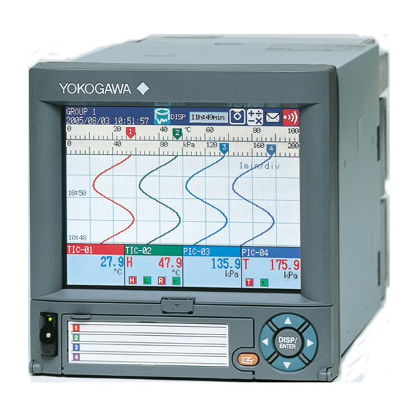 Smart User Interface DX-1004 Paperless Recorder Yokogawa Recorder Details