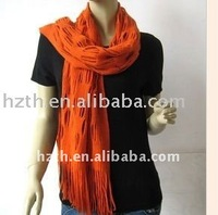 HOT !! 2012 newest long style acrylic scarf