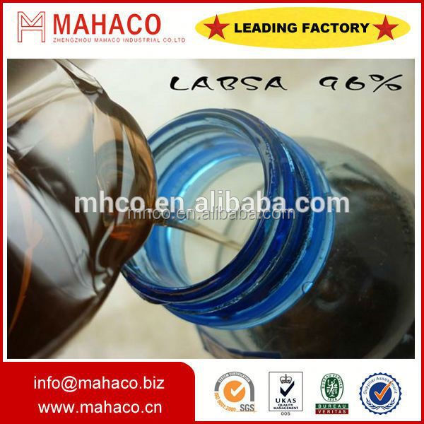 Cleaners raw material LABSA 96% surfactant ddbsa industrial grade