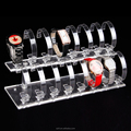 Black Acrylic Watch Display Rack Holder Stand
