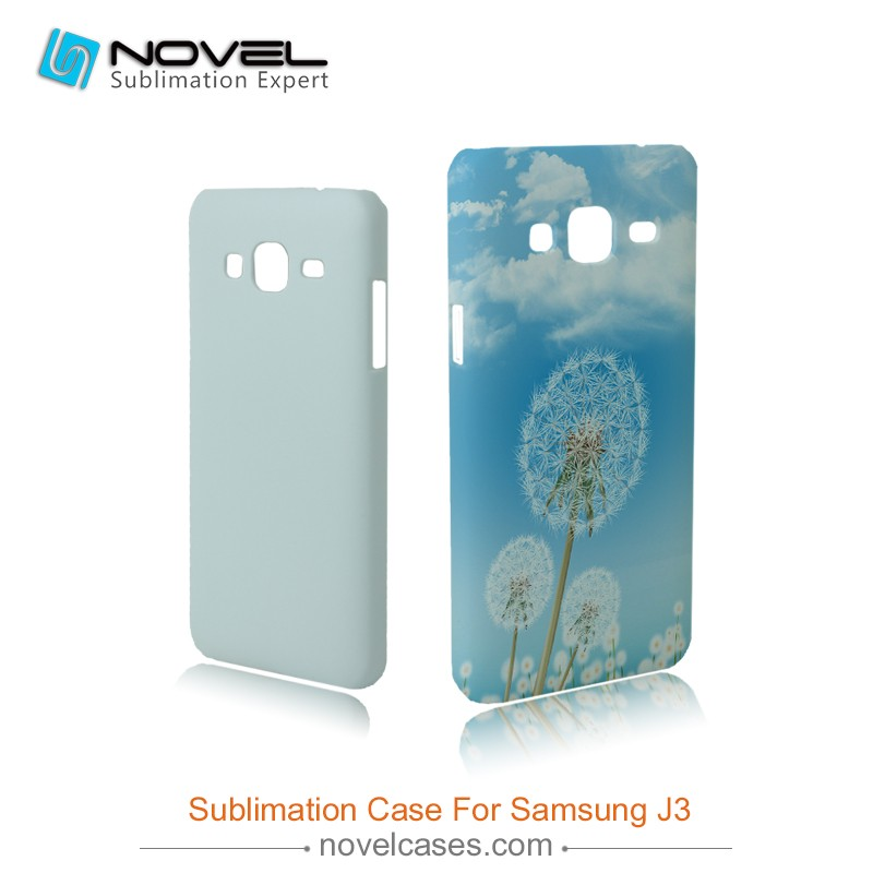 Hot Sale 3D Blank Sublimation phone cover for Samsung J3,DIY phone cases