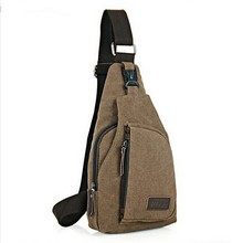 Men Shoulder Canvas Chest Casual Travel Military Messenger Bag