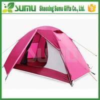 Factory direct sales excellent pink pop up beach shade tent