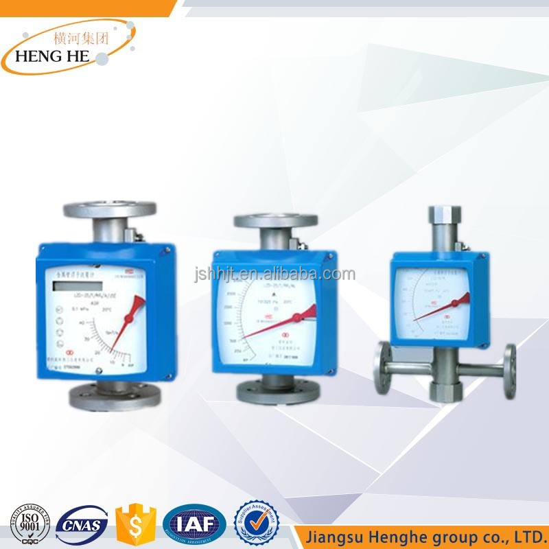 China Water measuring device Metal Tube Flowmeter Rotameter with Explosion Proof Optional