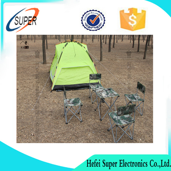 Picnic Double Folding Chair Umbrella Table Cooler Fold Up Beach Camping