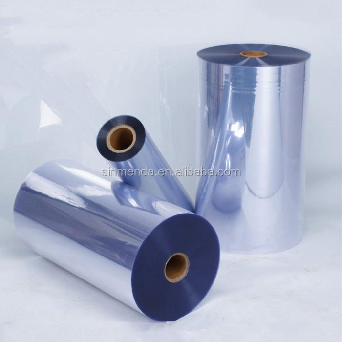 Transparent rigid pvc films , plastic clear film roll for thermoform and vacuum forming