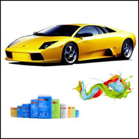 Auto Refinish 1K Basecoat car paint Orange Yellow Colors Car Spray Paint