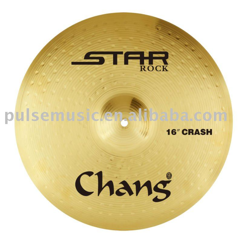 Chang Star Series Rock Brass Cymbal Set-ST-RK Set